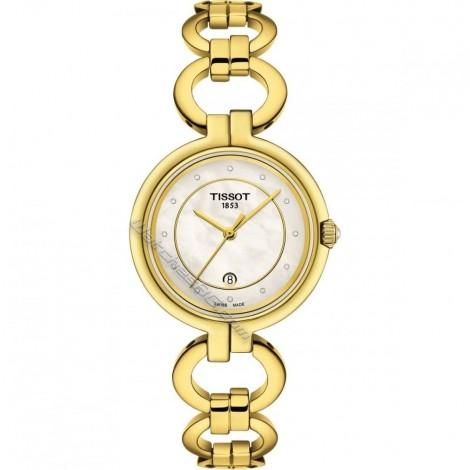 Дамски кварцов часовник TISSOT Flamingo T094.210.33.116.00