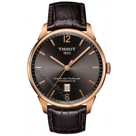 Мъжки механичен часовник TISSOT Chemin Des Tourelles T099.407.36.447.00