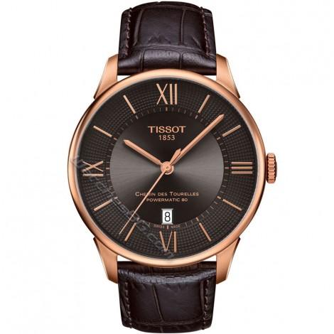 Мъжки механичен часовник TISSOT Chemin Des Tourelles T099.407.36.448.00
