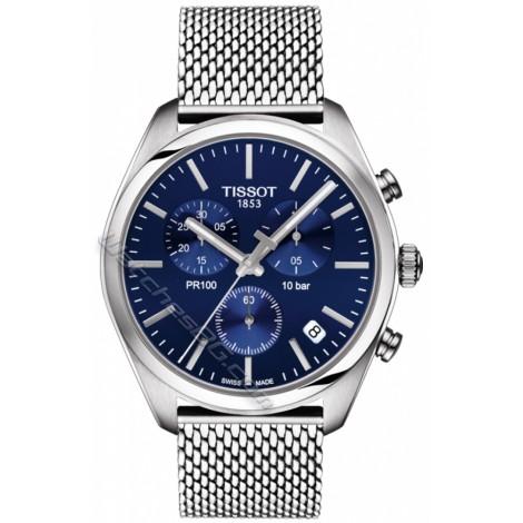 Мъжки кварцов часовник TISSOT PR 100 T101.417.11.041.00 CHRONOGRAPH