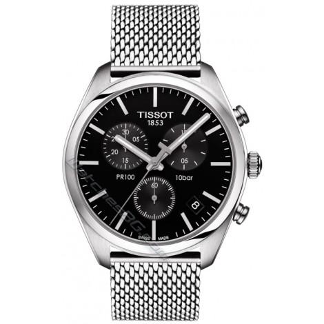 Мъжки кварцов часовник TISSOT PR 100 T101.417.11.051.01 CHRONOGRAPH