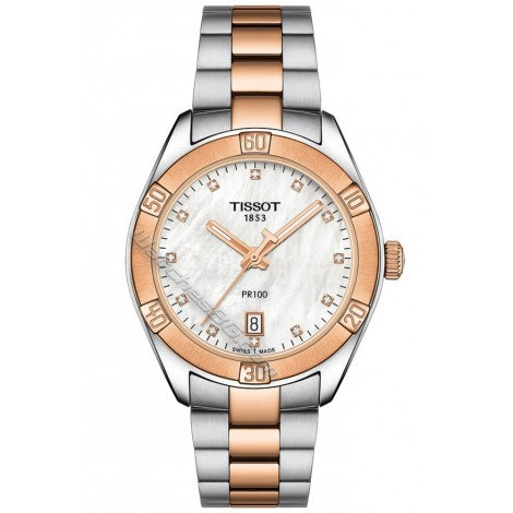 Дамски часовник TISSOT PR 100 SPORT CHIC T101.910.22.116.00
