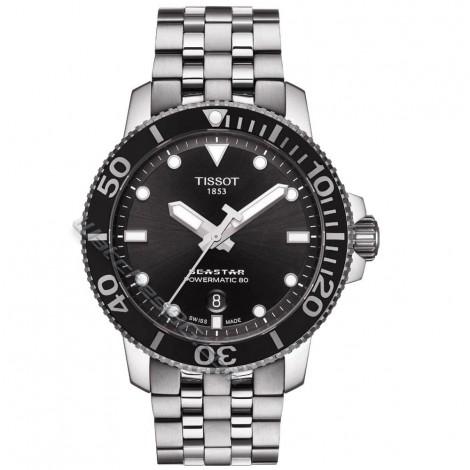 Мъжки автоматичен часовник Tissot Powermatic 80 T120.407.11.051.00