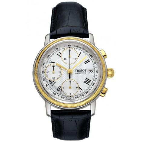 Мъжки механичен часовник TISSOT Bridgeport T71.0.427.33 Chronograph