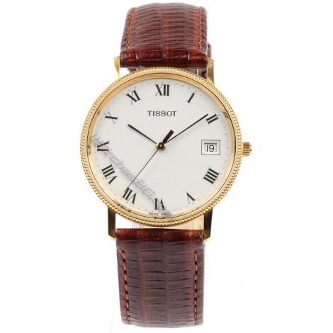 Мъжки кварцов часовник TISSOT Goldrun T71.3.412.13