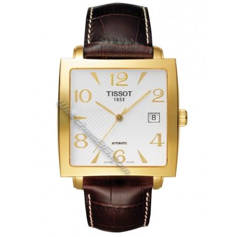 Мъжки механичен часовник TISSOT Sculpture Line T71.3.632.34