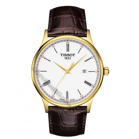 Мъжки кварцов часовник TISSOT ROSE DREAM 18K GOLD T914.410.46.013.00