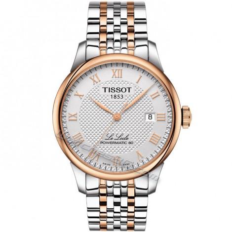 """Мъжки часовник TISSOT Powermatic 80 """"Le Locle"""" T006.408.22.037.00"""