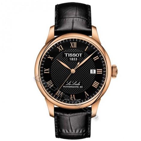 """Швейцарски мъжки механичен часовник TISSOT Powermatic 80 """"Le Locle"""" T006.407.36.053.00"""