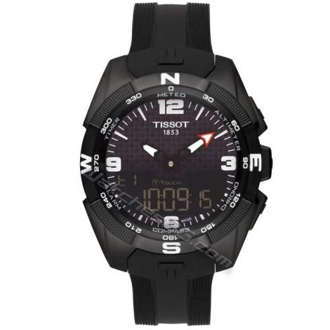 """Швейцарски мъжки кварцов часовник TISSOT """"T-Touch Expert Solar"""" T091.420.47.057.01"""