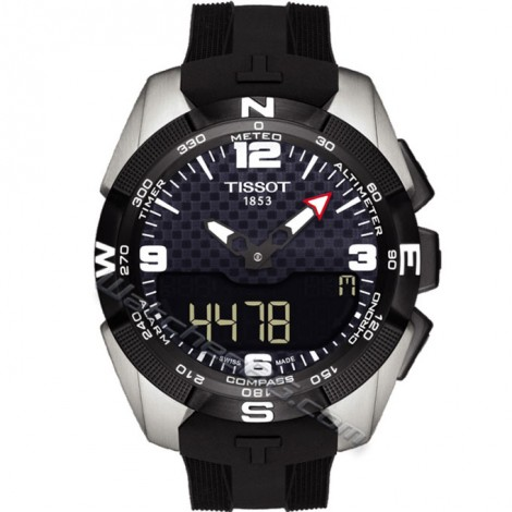 Часовник TISSOT T-Touch Expert Solar T091.420.47.207.01 NBA Special Edition