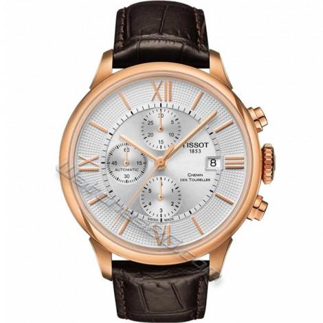 Часовник TISSOT CHEMIN DES TOURELLES T099.427.36.038.00