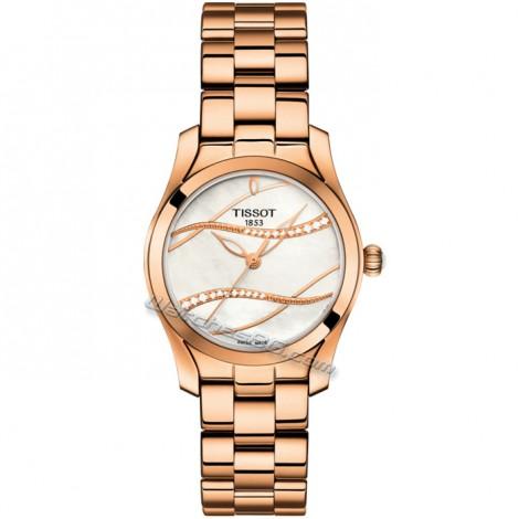 """Дамски часовник TISSOT """"T-Wave"""" T112.210.33.111.00"""