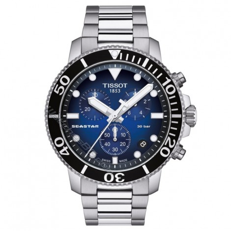 Мъжки кварцов часовник TISSOT Seastar T120.417.11.041.01 CHRONOGRAPH