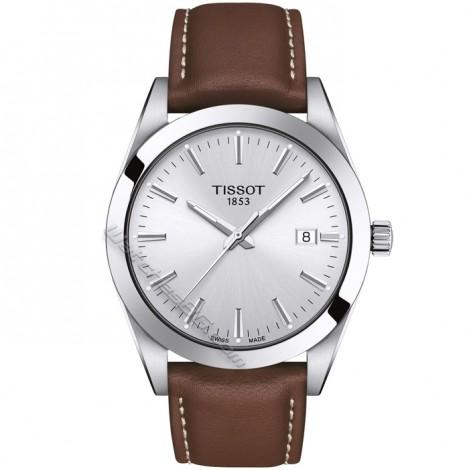Мъжки кварцов часовник TISSOT Gentleman T127.410.16.031.00